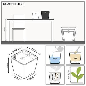 16143 QUADRO LS 28 anthrazit metallic