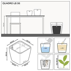 16163 QUADRO LS 35 anthrazit metallic